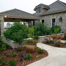 Traditional Exterior by CLK Construction