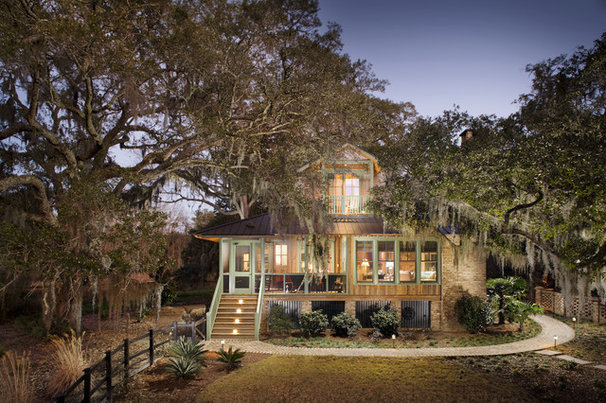 Rustic Exterior by Gerald D. Cowart, AIA, LEED  AP