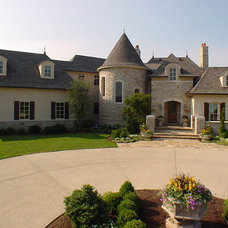 Eclectic Exterior by Goldberg Design Group, Inc.