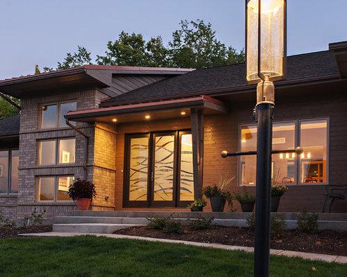 Fotos de fachadas dise os de fachadas modernas con - Tejado a cuatro aguas ...