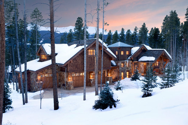 Rustic Exterior by Neely Architecture