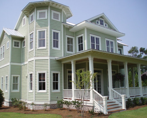 Key west landfall for Tropical exterior house colors