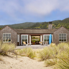 Beach Style Exterior by ScavulloDesign Interiors