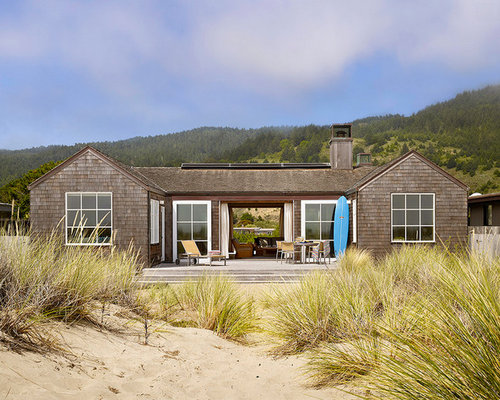 Best Small Beach Style Exterior Home Design Ideas ...