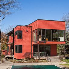 Modern Exterior by Brett Webber Architects, PC