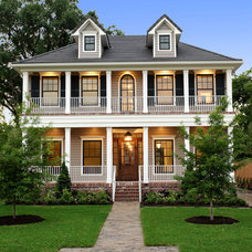 traditional exterior by Stone Acorn Builders