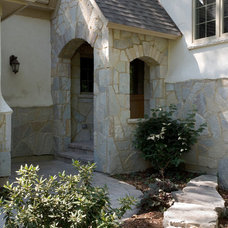 Traditional Entry by Orren Pickell Building Group