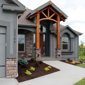 Stone Canyon subdivision in Blue Springs, MO