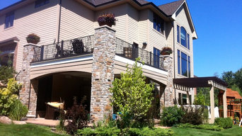 Stone Columns - Outdoor Living