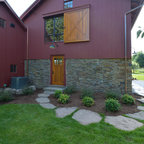 Front Entrance Craftsman Exterior Manchester By A
