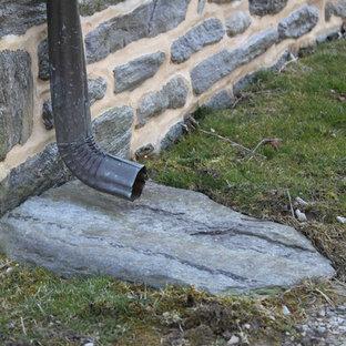 Traditional exterior home idea in Philadelphia