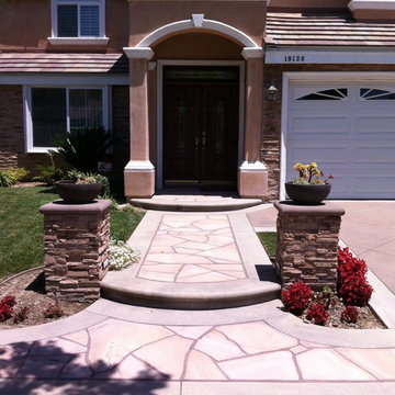 Stone Exterior and Hardscaping