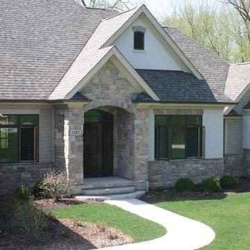 Stone Exterior Siding Cobble Stone