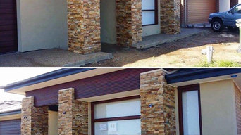 Stone Feature Walls - Hazelnut