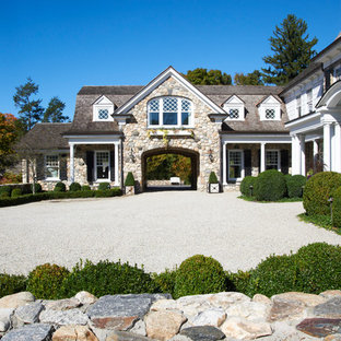 Stone Gambrel Residence, New Canaan, Connecticut