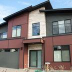 Lg House Exterior Modern Exterior Edmonton By
