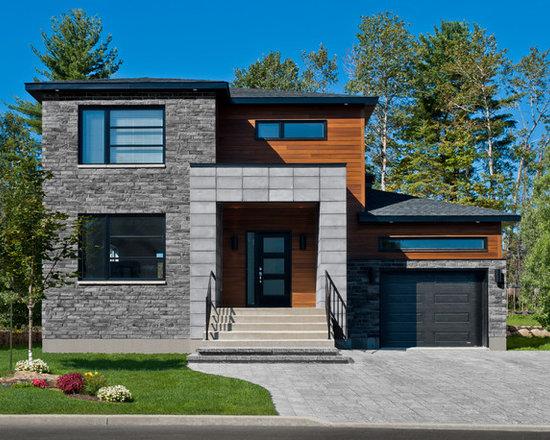 Modern Home Exterior Wood wood exterior | houzz