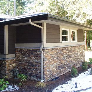 Inspiration for a timeless exterior home remodel in Denver