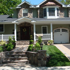 Traditional Exterior by Ambassador Home Improvement