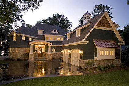 Traditional Exterior by Stonebreaker Builders & Remodelers