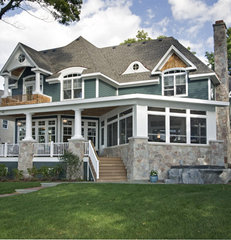 traditional exterior by Stonebreaker Builders & Remodelers