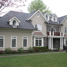 Traditional Exterior by House Architecture and Construction,pllc