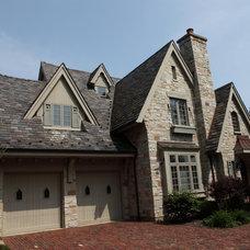 Traditional Exterior by Battaglia Homes