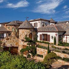 Mediterranean Exterior by Brion Jeannette Architecture