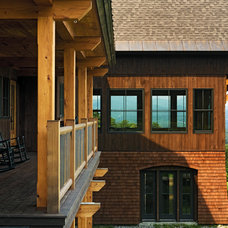 Traditional Exterior by Birdseye Design