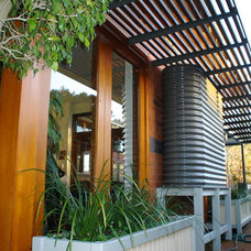 Contemporary Exterior by POC+P architects