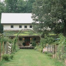 Farmhouse Exterior by Allbright Bullock Architects