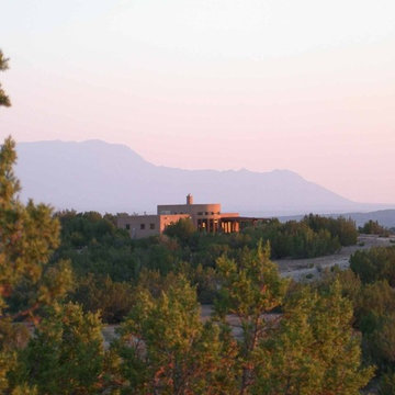 Strawbale Home in the Southwest