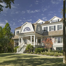 Traditional Exterior by Christopher A Rose AIA, ASID