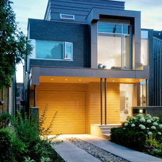 modern exterior by Andrew Snow Photography