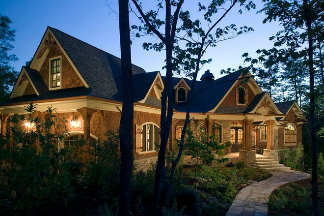 Traditional Exterior by Authentic Pine Floors, Inc.