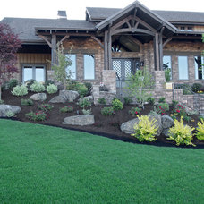Traditional Exterior by Elite Development Northwest, LLC