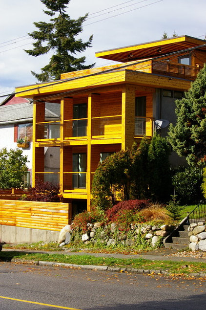 Modern Exterior by Maltby Design