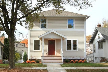 Traditional Exterior by the gudhouse company