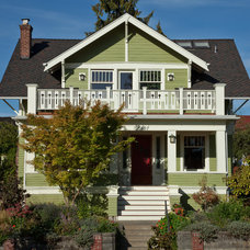 Craftsman Exterior by Tim Andersen Architect