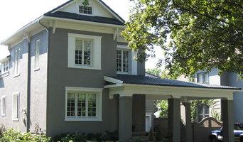Stucco exterior repaint - Kitchener, Ontario