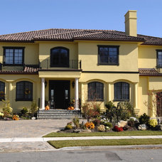 Mediterranean Exterior by Heartwood Corp
