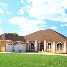 Contemporary Exterior Stucco Ranch