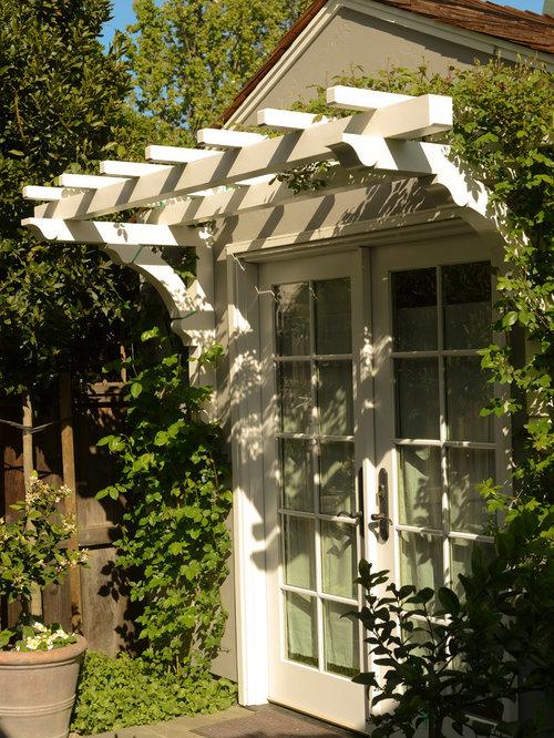 Over Door Trellis Ideas Pictures Remodel And Decor