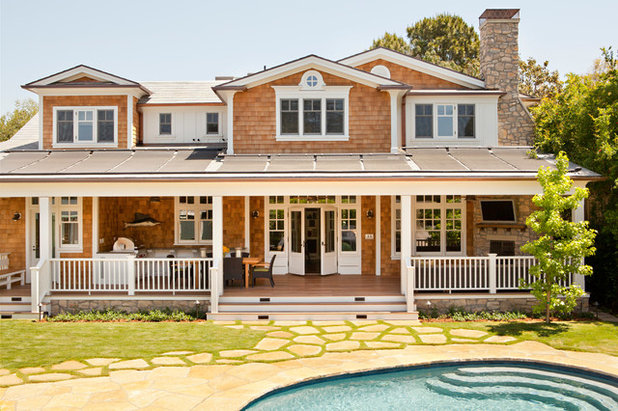 Beach Style Exterior by Tim Barber Ltd Architecture
