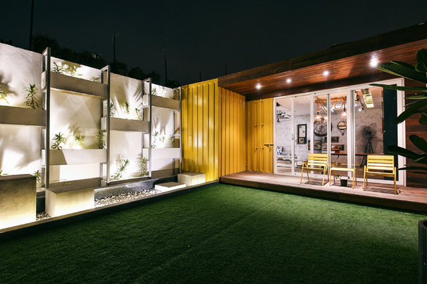 Contemporary Exterior by Studio Wood