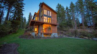 Stunning Contemporary Lake House
