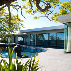 Modern Exterior by Kym Rodger Design