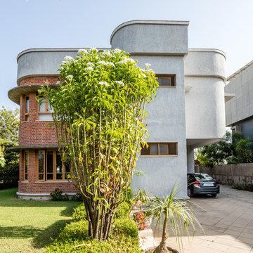 sudhirbhai bungalow design by manisha basu
