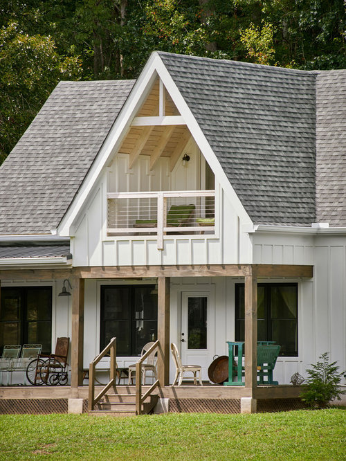 Top 20 Farmhouse Exterior Home Ideas & Remodeling Pictures | Houzz