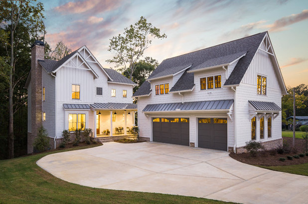 Farmhouse Exterior by Ironwood Construction Group LLC